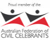 logo of the Australian Federation of Civil Celebrants